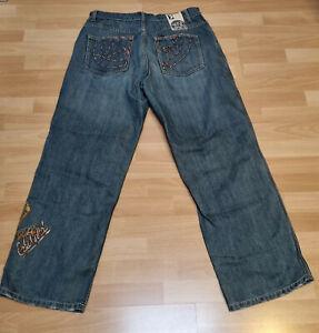 ECKO UNLTD Jeans BAGGY FIT EU W38 Größe 38 Blau blue gebraucht used