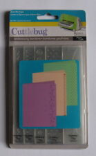 Cuttlebug Embossing Borders - Just My Type - 5 Folders - Pre-owned.