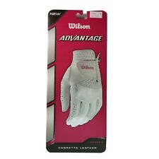 Wilson Women's Advantage Left Hand Golf Glove, Small