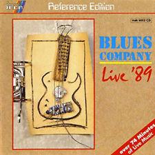 "Blues Company  ""LIVE `89 "" - INAKUSTIK CD - digital recording -"