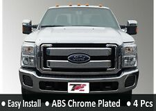 2011-2016 Ford F-250/F-350 Chromed Grill Insert