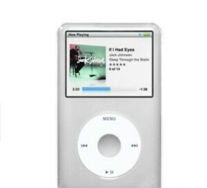 Transparent Remix iPod Case for iPod Classic 120GB/160GB Clear NEW Transparent s