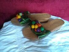 zoccoli sandali sabot 39 donna frutta verdi