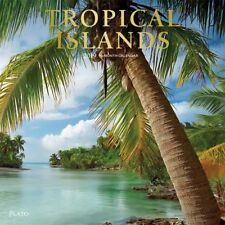 2019 Tropical Islands Plato Wall Calendar, Beaches by BrownTrout