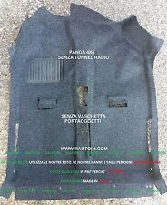 FIAT PANDA SPECIFICO PER LE 4x4  TAPPETO MOQUETTE INTERNO CARPET