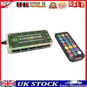 COOLMOON RGB Remote Controller DC12V 5A LED Color Intelligent Controller