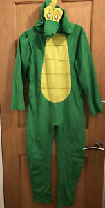 Childs Crocodile costume Fancy Dress Outfit age 10-12