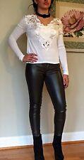 Hollister Skinny Leather Leggings Pants