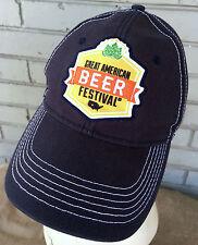 2012 Brewer American Beer Festival Adjustable Baseball Cap Hat