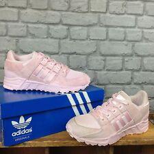 ADIDAS UK 6 EU 39 1/3 Rosa Zapatillas para hombre señoras del equipo de gamuza Originals