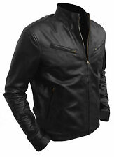 New Vin Diesel Fast And Furious 6 Designer Black Leather Jacket