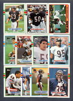 1989 Topps Chicago Bears TEAM SET + Traded