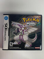 Pokemon: Pearl Version (DS, 2007) Complete In box With All Inserts