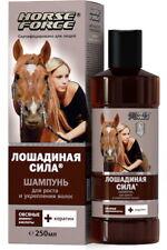 Horse Force Shampoo for growth strengthenhair keratin-based surfactants oat