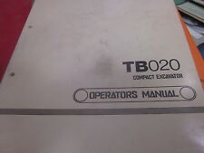 Heavy Equipment Manuals & Books for Takeuchi for sale   eBay