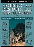 Time-Saver Standards For Housing And Residential Development : de Chiara