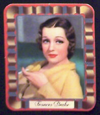 Frances Drake 1937 Garbaty Passion Film Favorites Embossed Cigarette Card #28