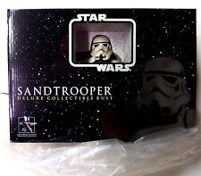 Star Wars Sandtrooper Bust Statue Gentle Giant White New