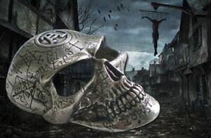 Genuine Alchemy Omega Skull Rare Buckle