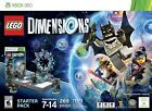 Lego DIMENSIONS #71173 Batman XBOX 360 Starter Pack Building Toy Set