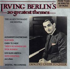 THE ALLEN TOUSSAINT ORCHESTRA : IRVING BERLIN'S 20 GREATEST THEMES / CD