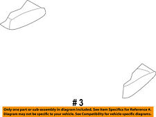 Dodge CHRYSLER OEM 2003 Ram 1500 Rear Seat-Seat Cushion Left XJ631L5AA