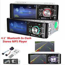 "New listing 4.1"" Bluetooth In-Dash Stereo Radio Hd Car Mp5 Mp3 Usb Aux Player ReaviewMonitor"