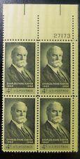 Scott #1195 Plate Block #27173 or 27174 TR 1962 Charles E. Hughes 4c FVF MNH/OG
