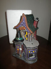 Department dept 56 ~ BEWITCHING COSTUME SHOP snow village halloween be witching
