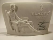 Vintage Lladro Advertising/Collectors Bisque Sign