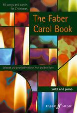 Les chansons Faber Carol Noël voix mixtes facile apprendre à jouer de la musique faber Livre