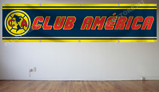 Club America Flag Banner 2X8ft Mexico Futbol Soccer Bandera New