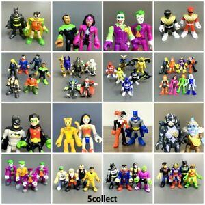 Lots Imaginext DC Super Friends Power Rangers Villains Robin Lantern Figures