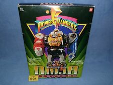 "POWER RANGERS MIGHTY MORPHIN DELUXE "" SHOGUN "" MEGAZORD 100% 591"