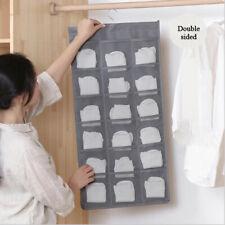 30 Pockets Mesh Hanging Storage Bag Underwear Organizer Bra Sock Wardrobe Hanger