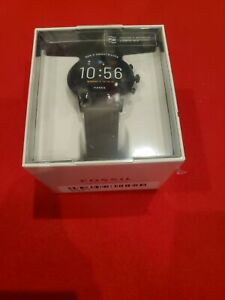 BRAND NEW SEALED Fossil Gen 5 Carlyle Smartwatch 44mm Stainless Steel FTW4026