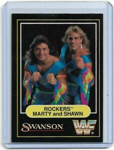 1991 Swanson WWF ROCKERS MARTY AND SHAWN Wrestling Card WWE NWA Oh Yeah
