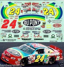 NASCAR DECAL #24 DUPONT 1999 NO BULL DAYTONA WINNER JEFF GORDON SLIXX