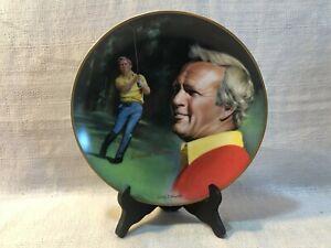 Arnold Palmer Signed Athlete of Decade Hackett American Par Edition Golf Plate