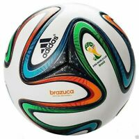 NEW ADIDAS BRAZUCA FIFA WORLD CUP 2014 BRAZIL  SIZE 5 OFFICIAL SOCCER MATCH BALL