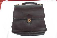 Black Coach Station Bag Large Needs Handle E8U 9927