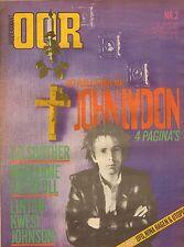 MAGAZINE OOR 1980 nr. 02  -JOHNNY LYDON/MARIANNE FAITHFULL/LINTON KWESI JOHNSON