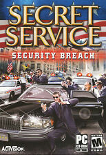SECRET SERVICE SECURITY BREACH Shooter PC Game NEW BOX!