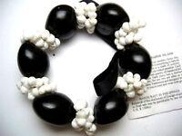 24048 QTY 2 Hawaii Wedding Graduation Mongo Shell Luau Hula Jewelry Bracelet