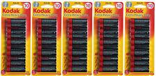 AA  Batteries Pack of 100 Kodak Camera Heavy Duty Long Life Dura Power Toy