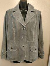 Bradley Bayou leather jacket (QVC style) size L