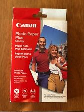 Canon Photo Paper Plus Glossy 50 Sheets 4X6