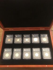 2006 S ICG PR70DCAM First Day of Issue Silver Proof Set Complete #59 of #192