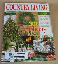Country Living Magazine December 2002 301 Holiday Ideas  Make it Festive
