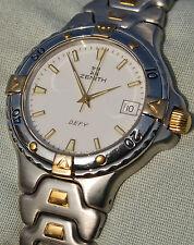 orologio sub 200 mt. ZENITH DEFY acciaio oro in ottime condizioni braccialalato
